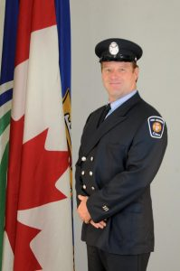 Fire Fighter Shawn Mathieson