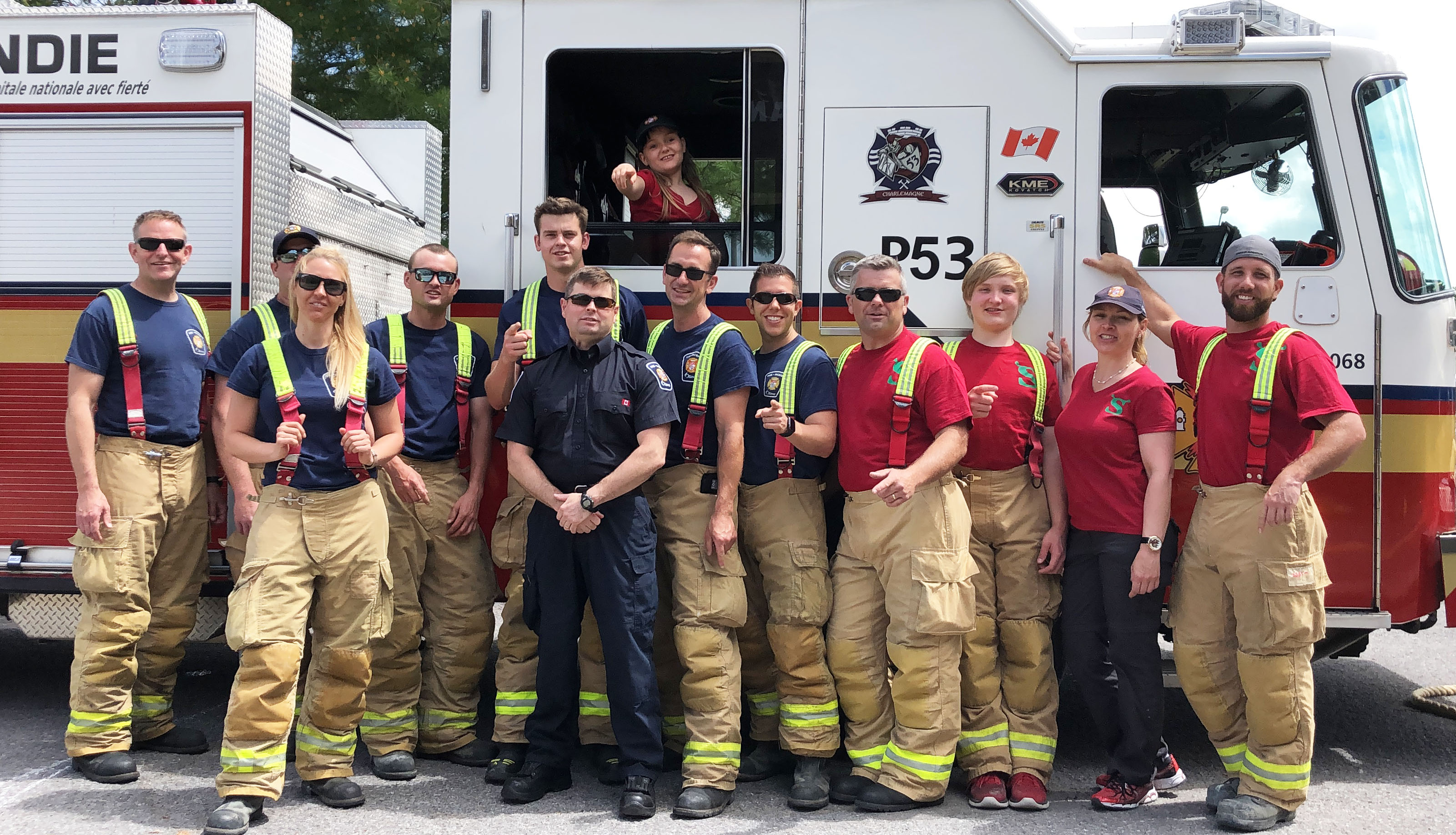 Team Shrek launching Shawn Mathieson First Responder Challenge June 21, 2019